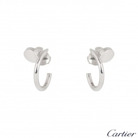 Cartier White Gold Juste un Clou Earrings B8301236